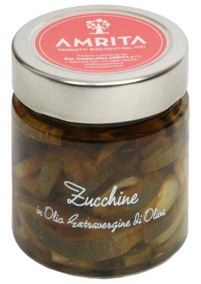 Zucchini extra virgin olive oil