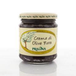 Black olive cream paste