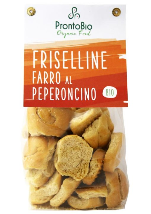 Friselline made from spelt with chilli