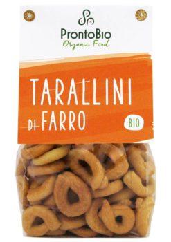 Tarallini made from spelt
