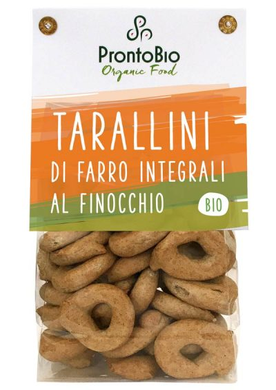 Tarallini with fennel