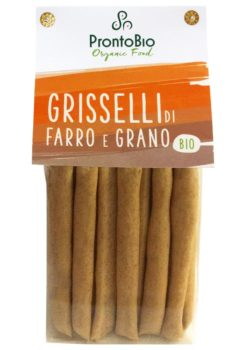 Grisselli made from spelt and wheat